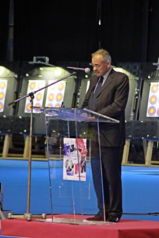 Jean-Jacques GAULTIER, maire de Vittel.