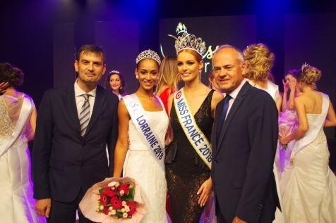 Photo souvenir avec Miss France et la Nouvelle Miss Lorraine 2018.
