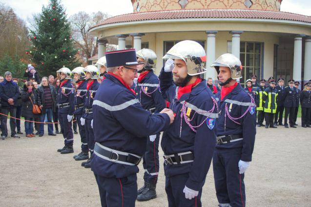 Promu au grade de caporal-chef, Frediano Foti (CIS Valfroicourt).