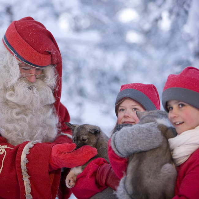 Meet Santa in Lapland
