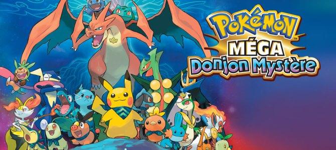 Nintendo Chronicles 13 – Les spins-off Pokémon – Test de Méga Donjon mystère