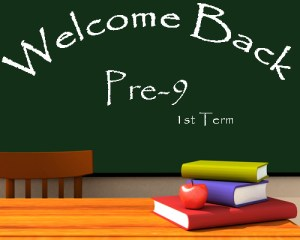 New Session of Pre-9th