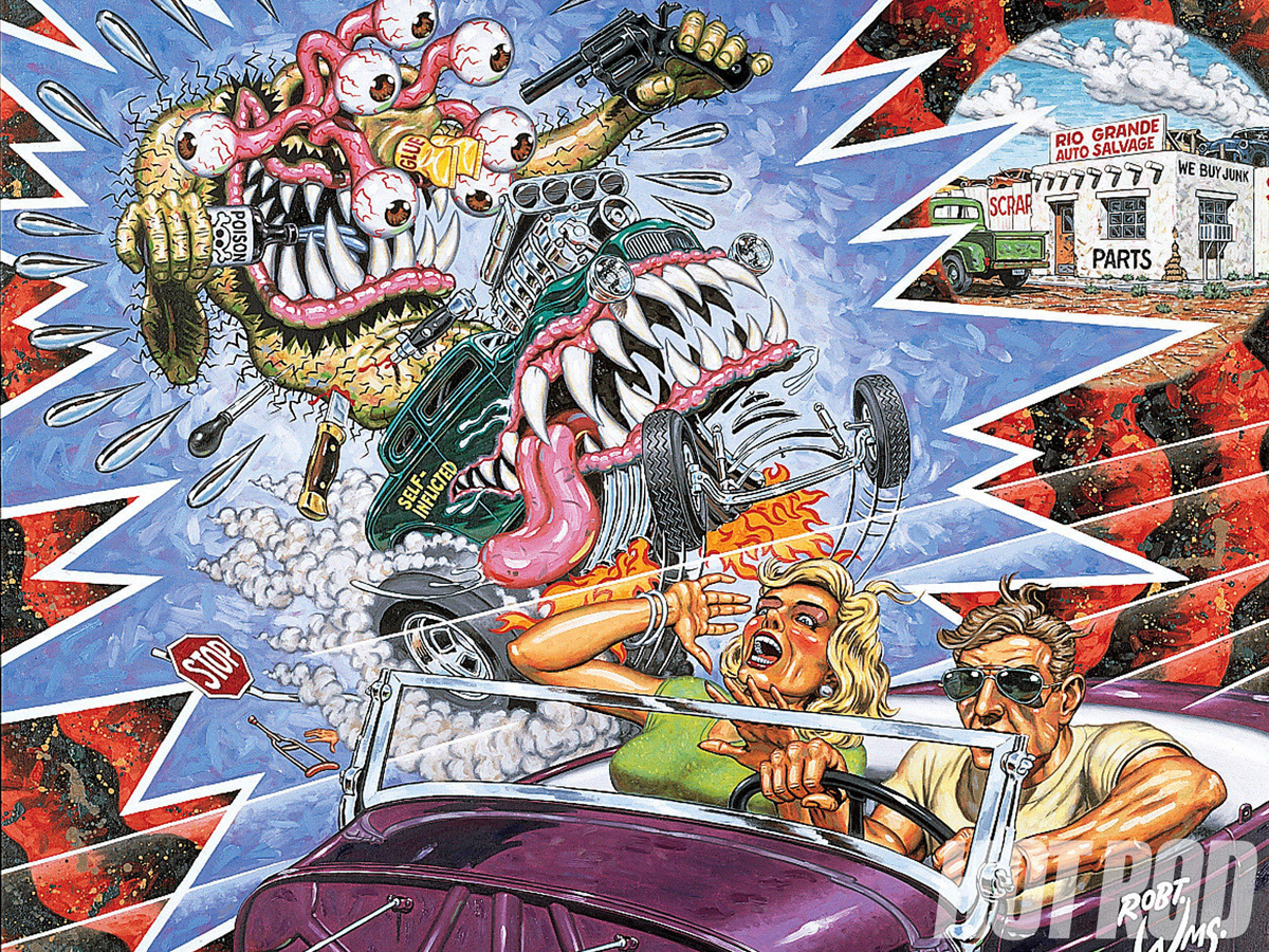 New Car Wallpaper Bloggers Robert Williams Artist Lapsed Time Images