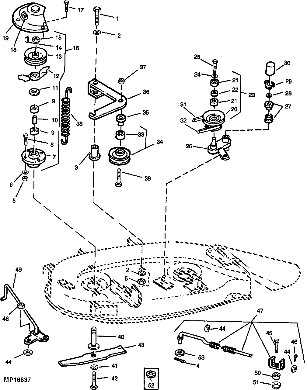 john deere l110 parts diagram