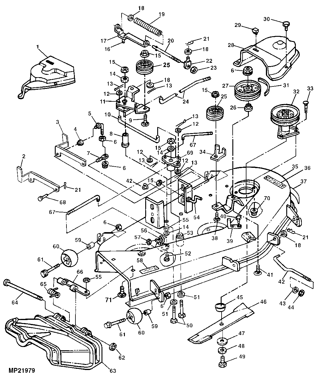 john deere la110 engine diagram