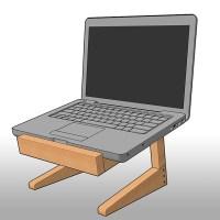 Under Desk Laptop Holder - Hostgarcia