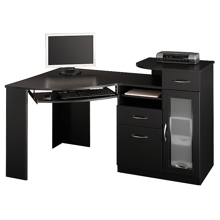 Ikea Website Corner Computer Desk Tower - Review And Photo