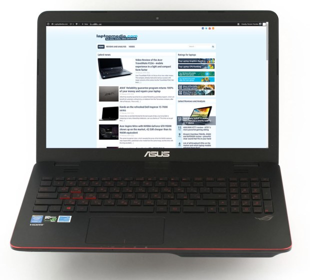ASUS G551J Web