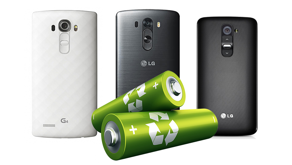 LG G4 vs LG G3 vs LG G2 – battery life comparison