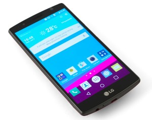 LG G4  display on2