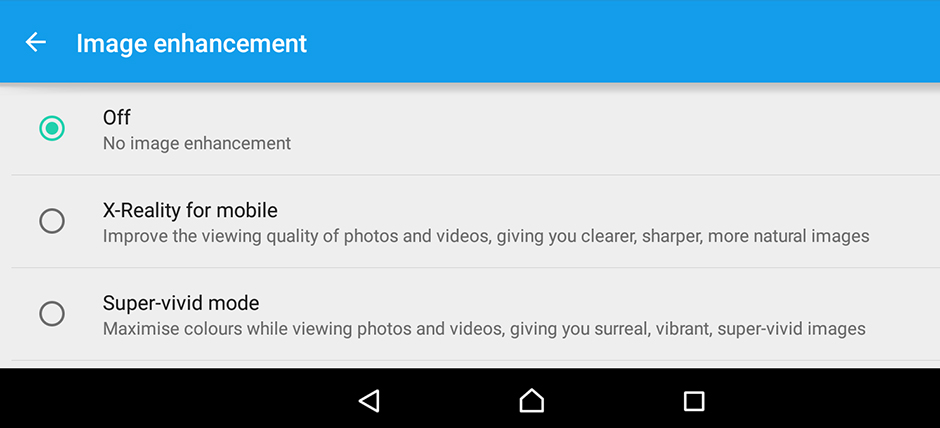 ImageEnhancement-Sony Xperia Z4 Tablet