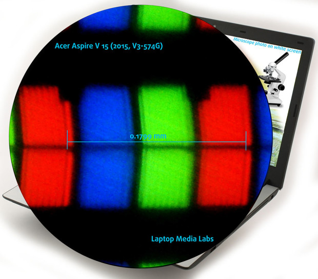 Micr-Acer Aspire V 15 (2015, V3-574G)