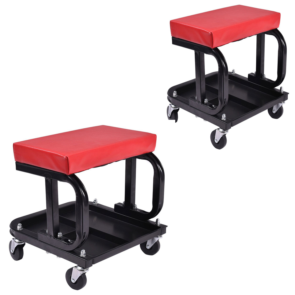 Chair Repair Details About Rolling Creeper Seat Mechanic Stool Chair Repair Tools Tray Garage W 300 Lbs