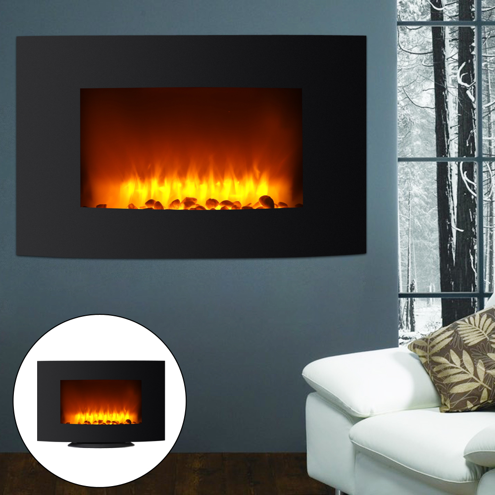 Wall Mount Fireplace Heaters Details About 35