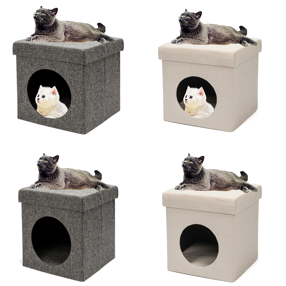 Pretty Cat Furniture Details About Furniture Double Used Pet Kid Cat Folding Chair Cat Litter Cat Bed Cat House