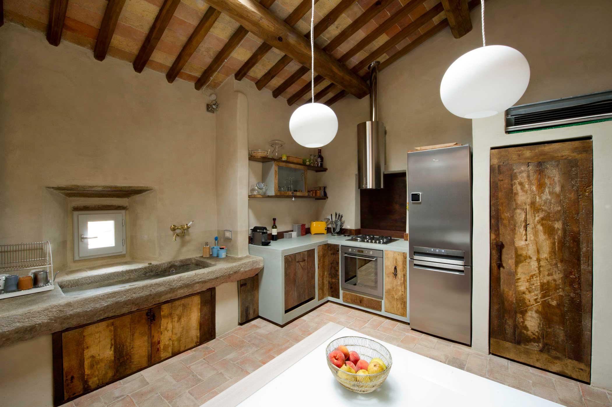 Cucina Selly Quercia Bianca Misura Cucina Moderna Cucine Moderne