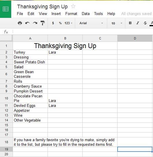Top Result 60 Lovely Thanksgiving Potluck Signup Sheet Template