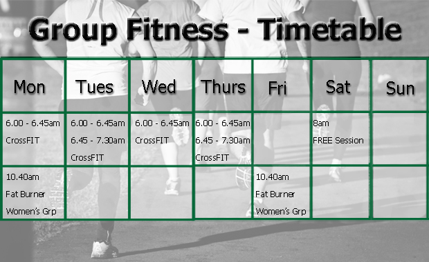 Timetable Template Healthy Habit