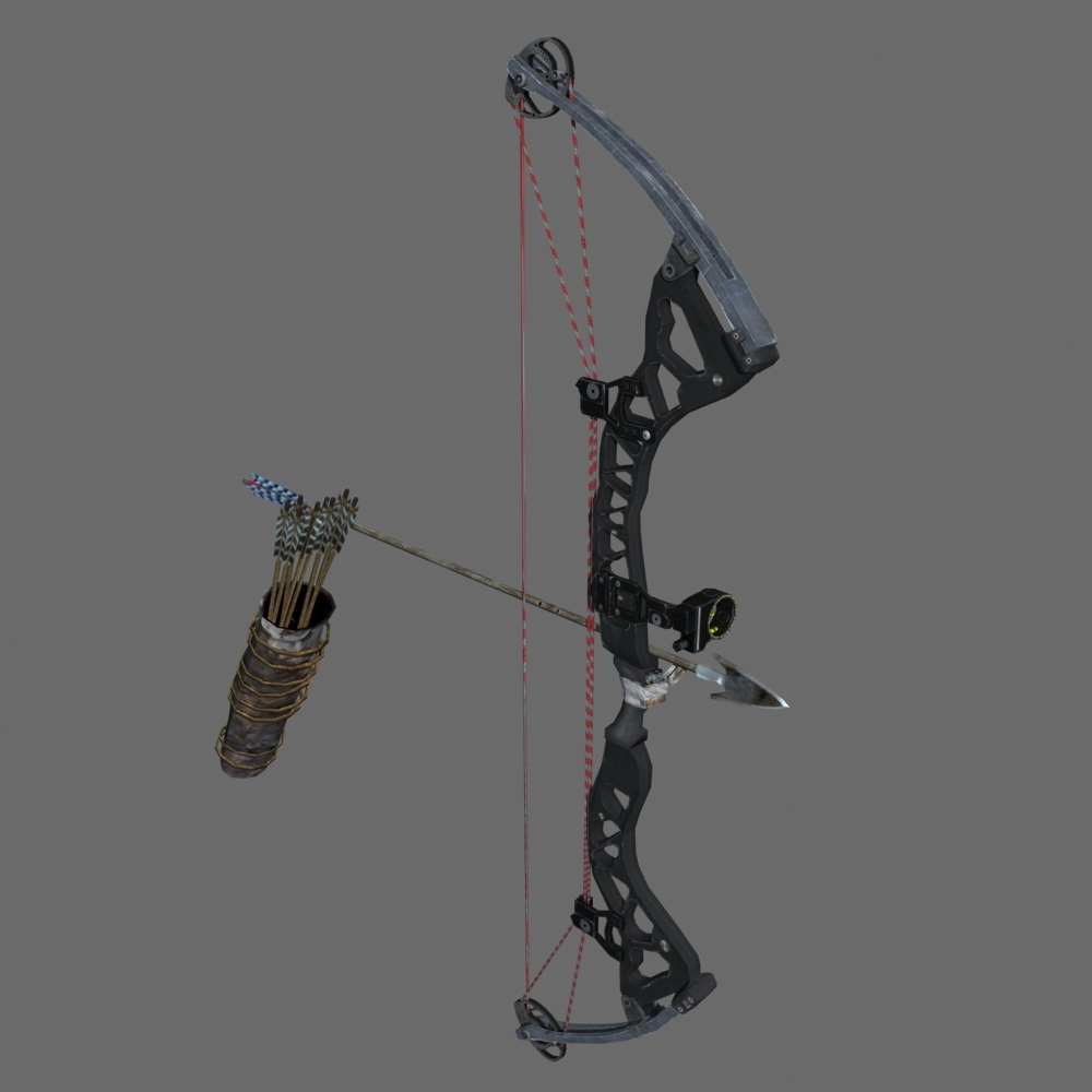 Crossbow Vs Roundup Tomb Raider 2013 Competition Bow Tutorial | Tomb Raider