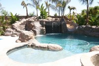 1000+ images about Pool waterfall ideas on Pinterest