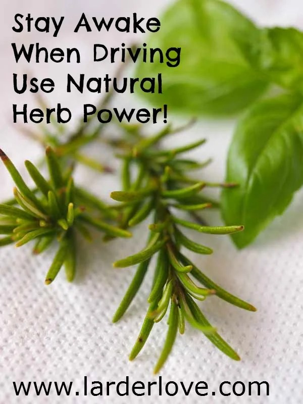 natural way to stay away when driving herbs to keep you awake