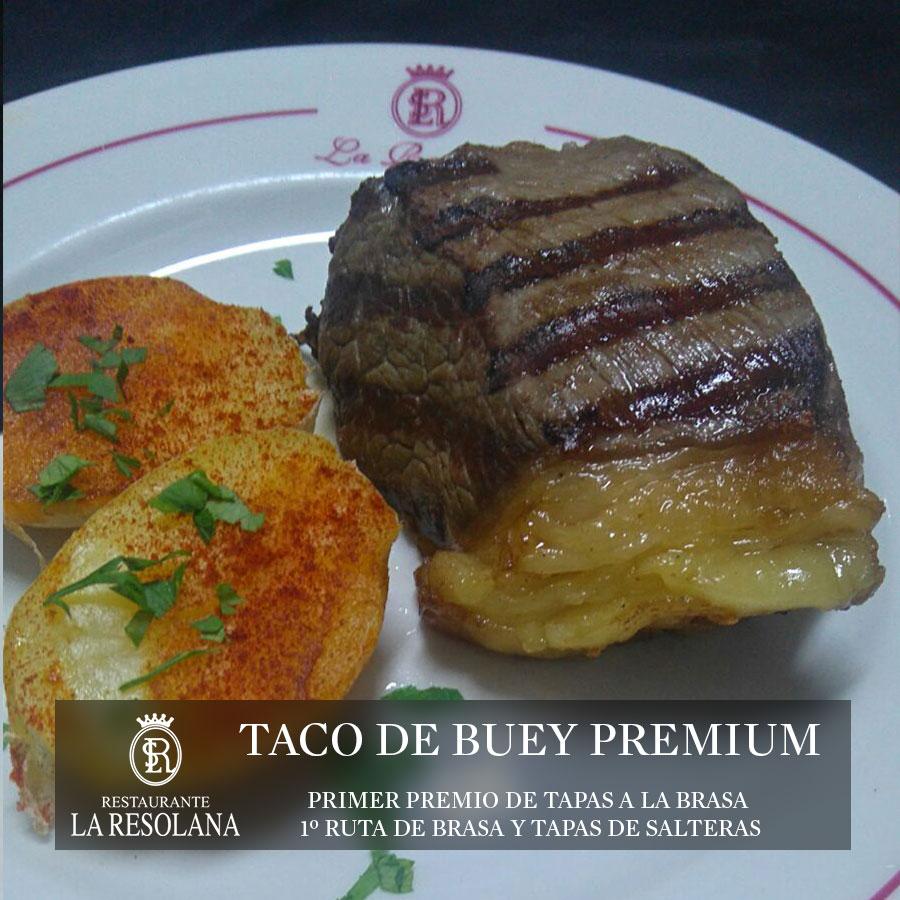 Taco de Buey Premium,