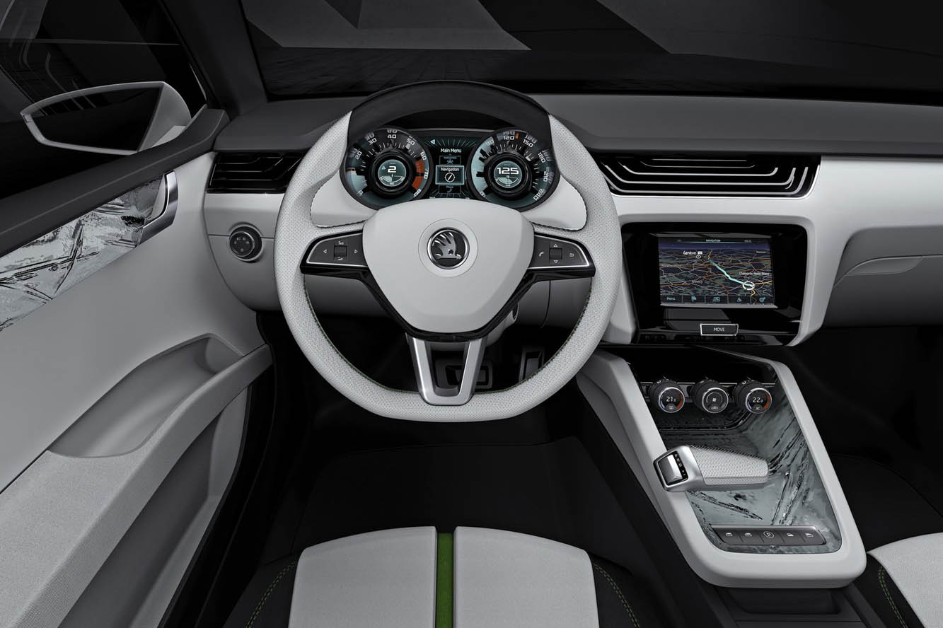 Design Interieur Concept Photo Skoda Design Concept Interieur Exterieur Année 2011