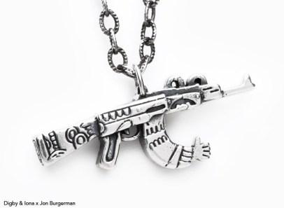 Digby-Iona-burgerman-gun1