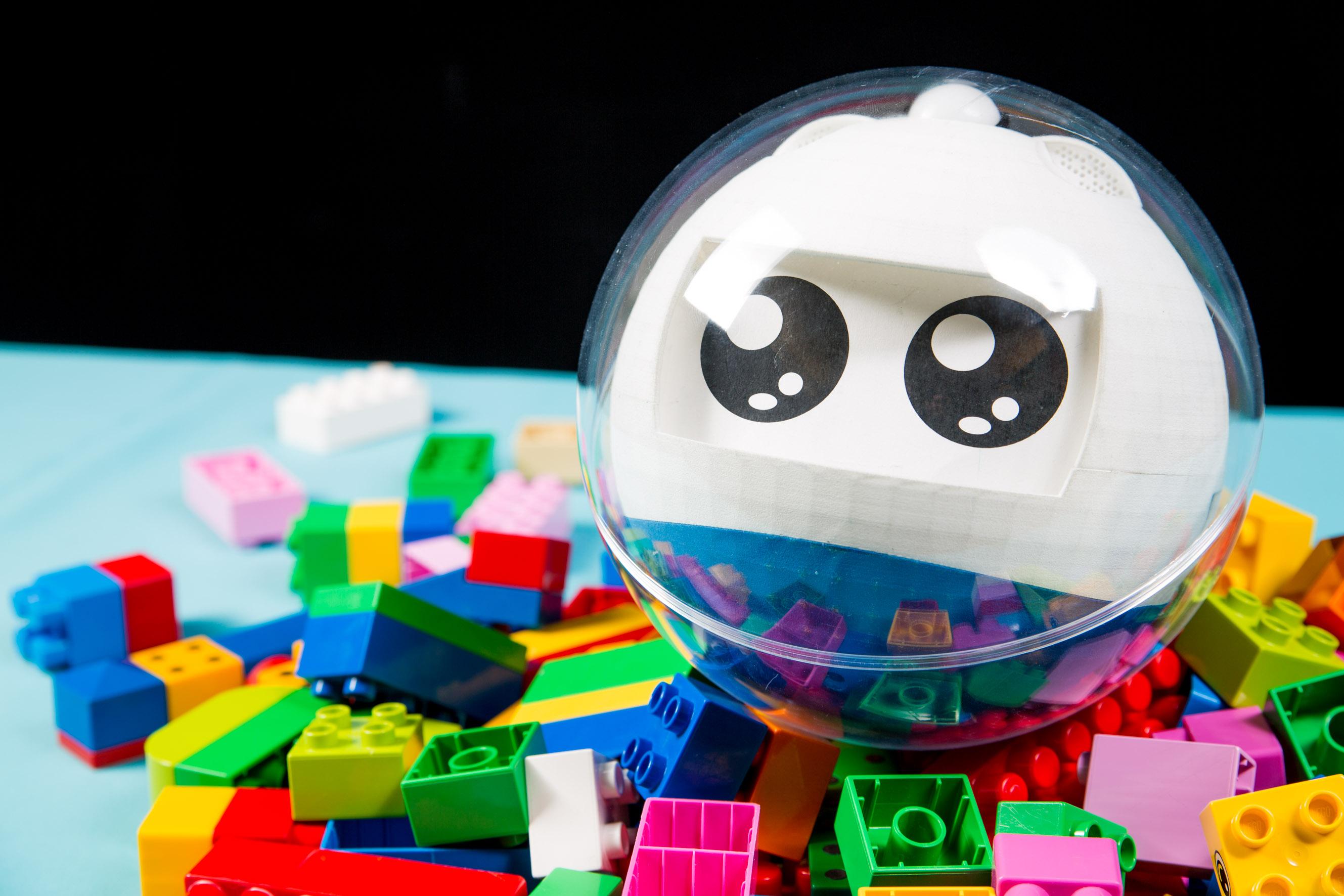 Leka robot pour enfants exceptionnels