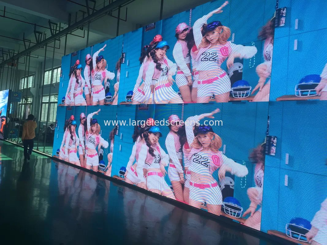Led Wall China Brushed Aluminum P4 81 Indoor Led Video Wall Advertising Led Video