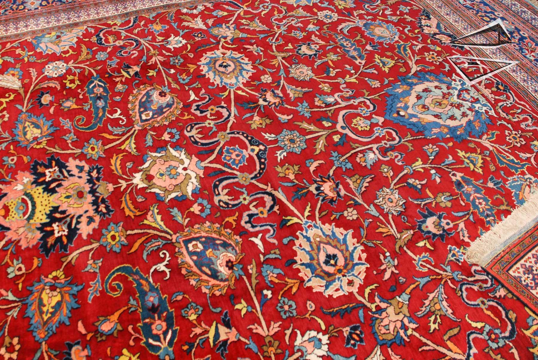 Persian Isfahan Rug 1239 X 1639