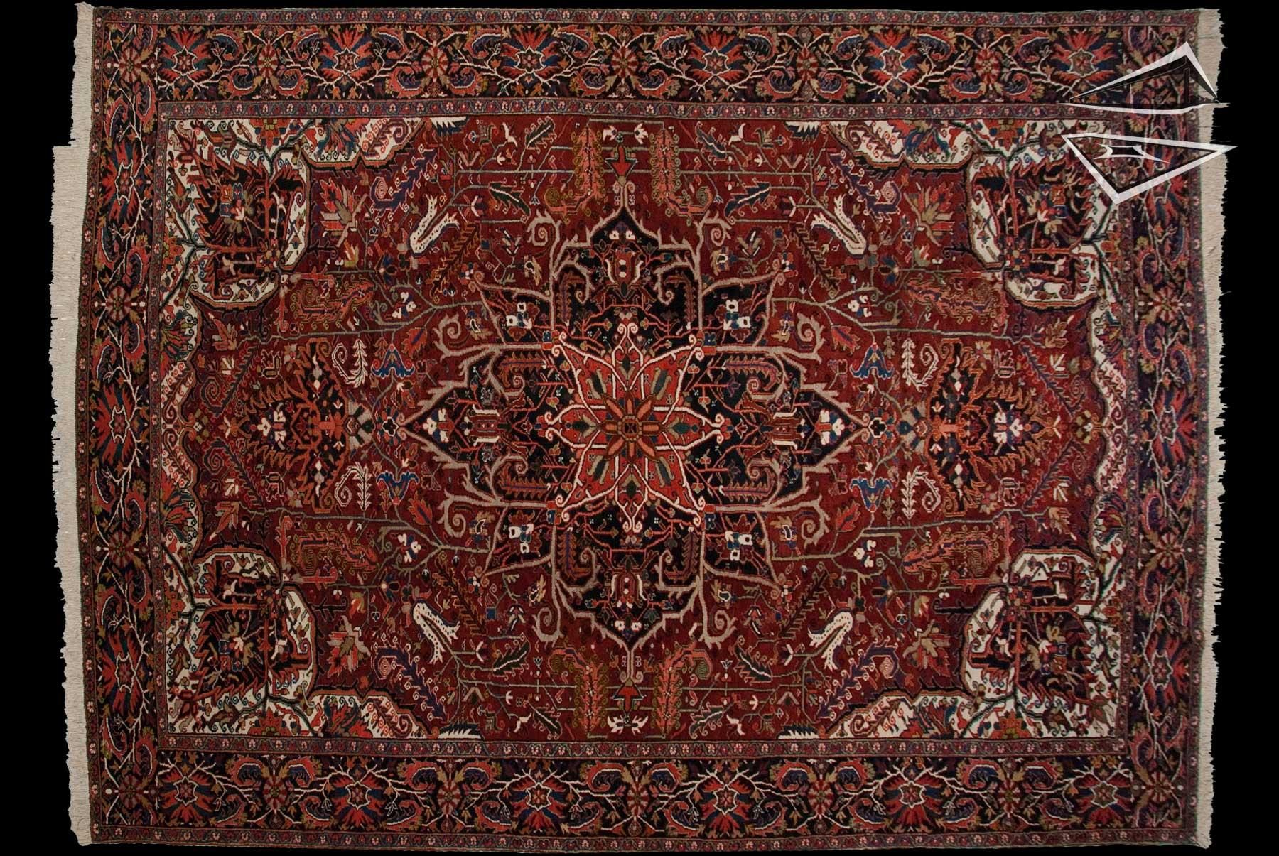 Persian Heriz Rug 1239 X 1639