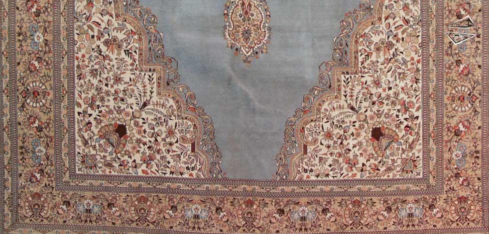 Persian Tabriz Rug 1239 X 1639