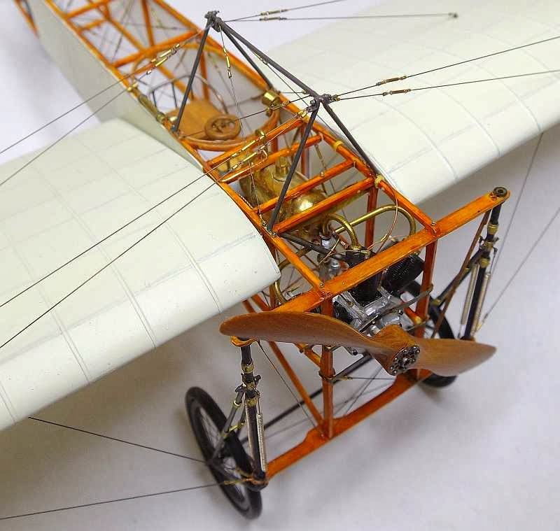 Aeroplane Fly Bleriot Xi Scratch Build In 1/32 Scale | Large Scale Planes
