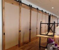 Modern Room Dividers | Large Sliding Doors