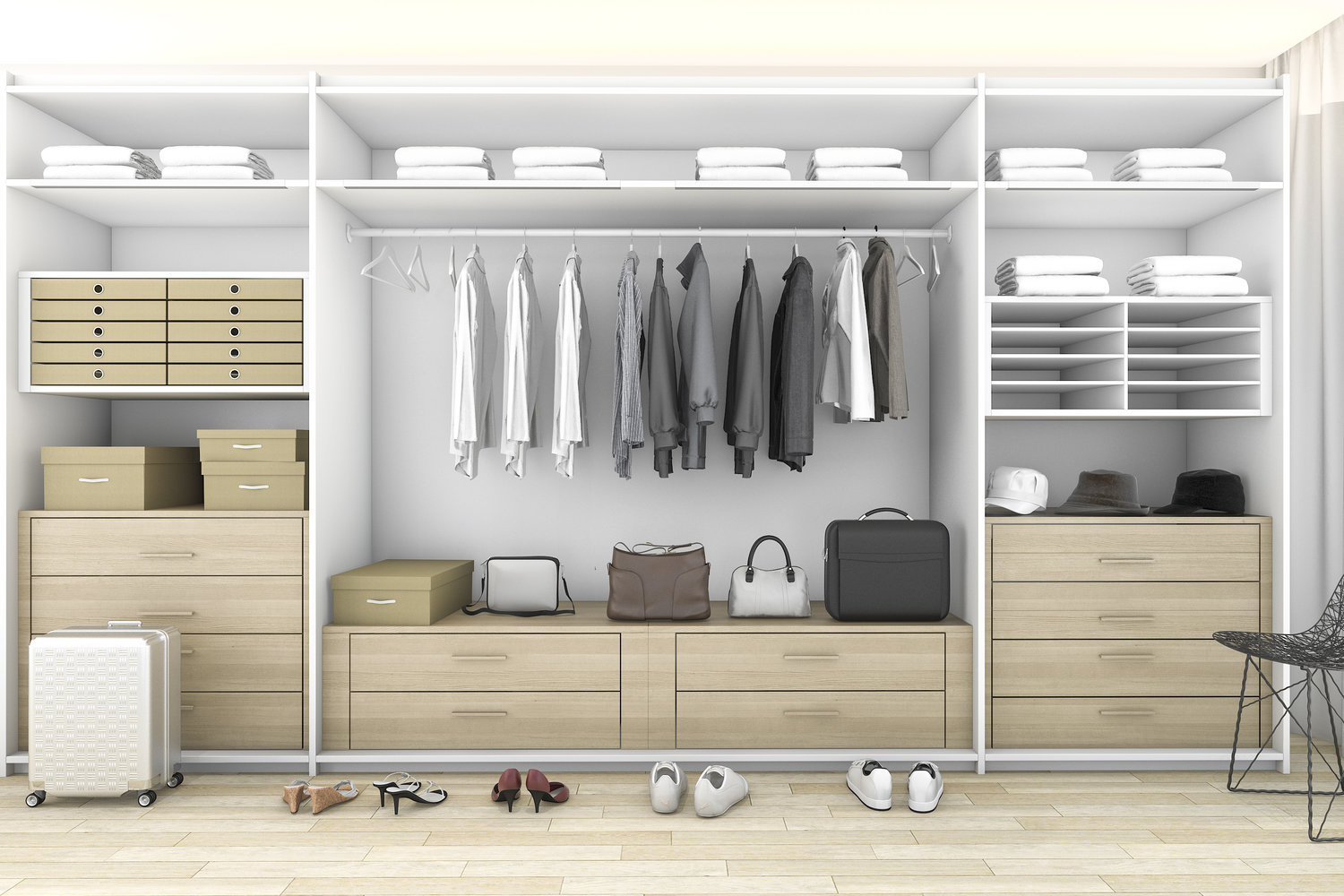 Working Wardrobes Tips On Turning Your Room Into A Walk In Wardrobe Lark