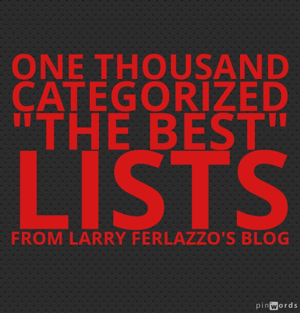 My Best of series Larry Ferlazzo\u0027s Websites of the Day