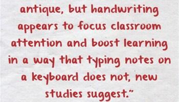 Note taking laptop