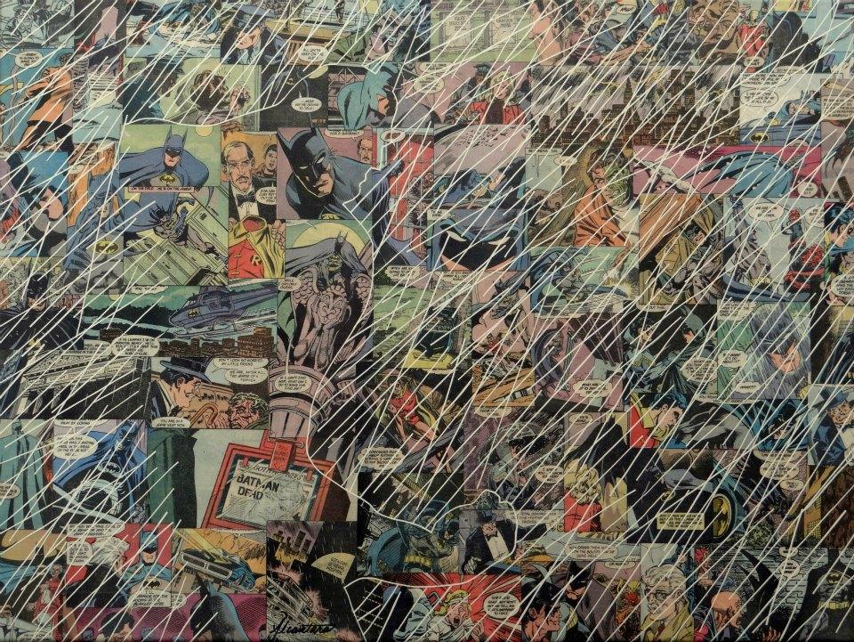 Google Wallpaper Hd Comic Collage Art By Mike Alcantara