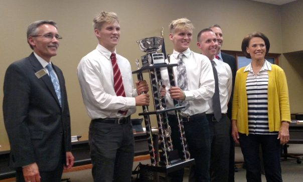 Fishers High School is once again a Pasta Bowl trophy winner