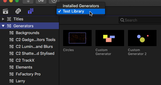 FCP X Store Custom Titles in the Library Itself Larry Jordan