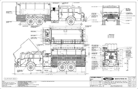 detroit diesel Schema moteur