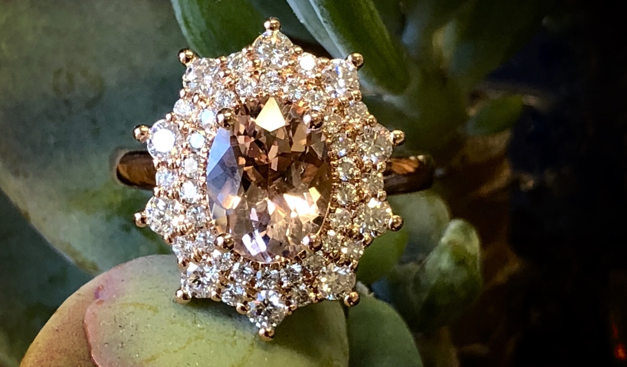 Morganite For The Millennial Larsen Jewellery