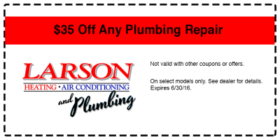 Coupons Specials & Offers - Larson Heating and Air