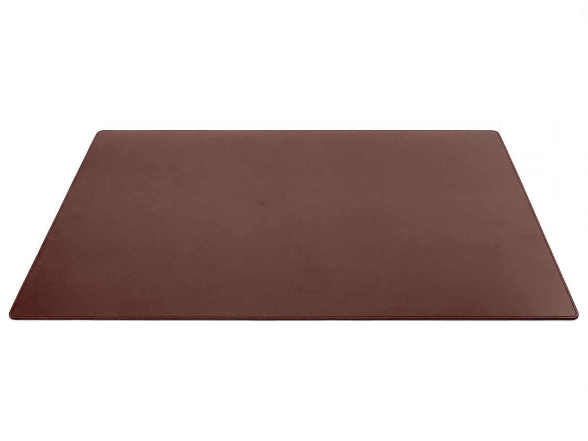 Grand Sous Main Bureau Grand Sous Main De Bureau En Cuir Marron 80 Cm Par 50 Cm