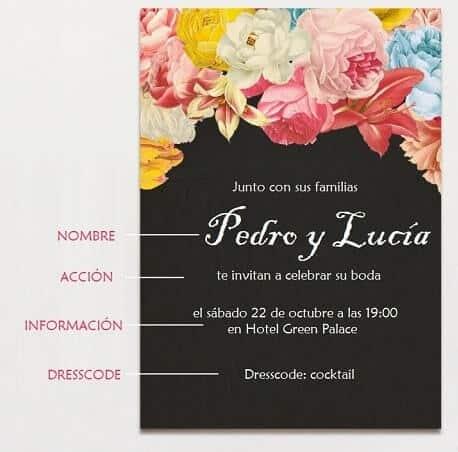 Las mejores frases para invitaciones de boda super originales