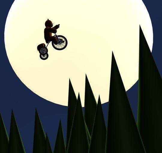 Nounours se prend pour E.T.