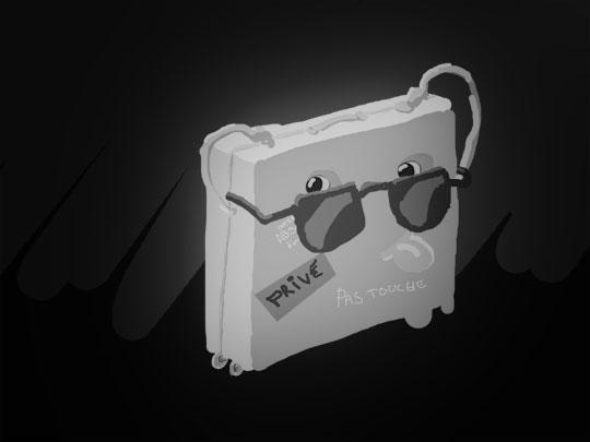 Recherche sur le thème de la valise