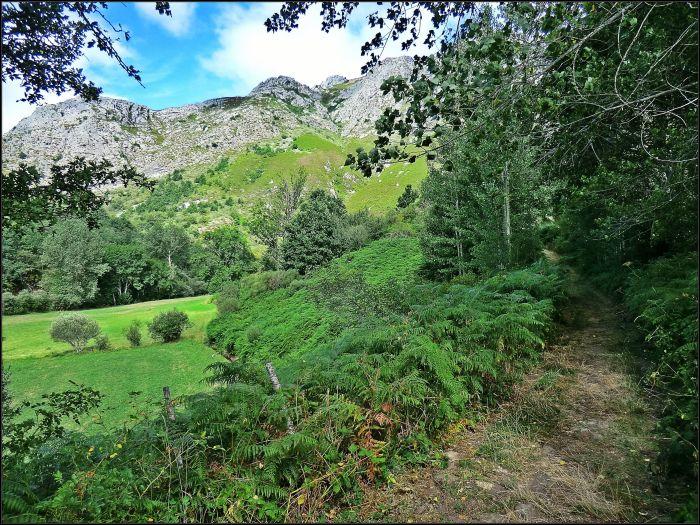 Salida de Entrevados a las cercanías de Cofiñal