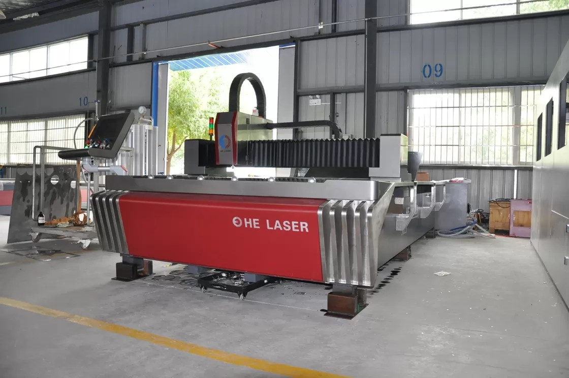 Laser Cutting Machine Metal 700 Watt Fibre Stainless Steel Laser Cutting Machine 8mm Cutting